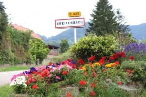 Entrée du village de Breitenbach